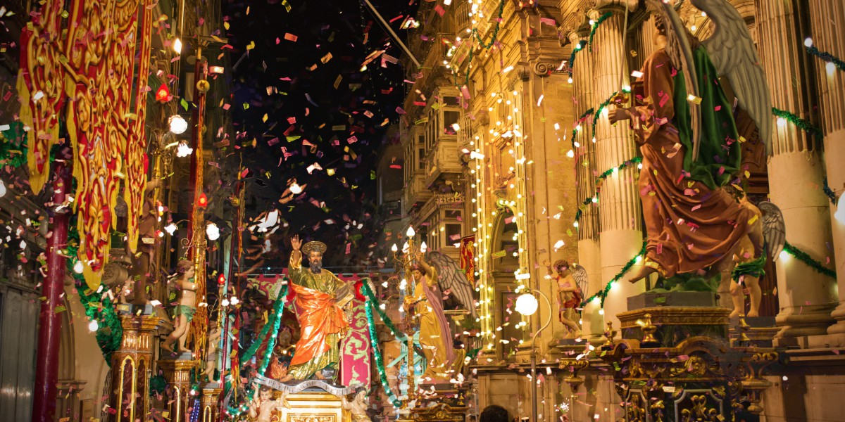 Feasts in Malta